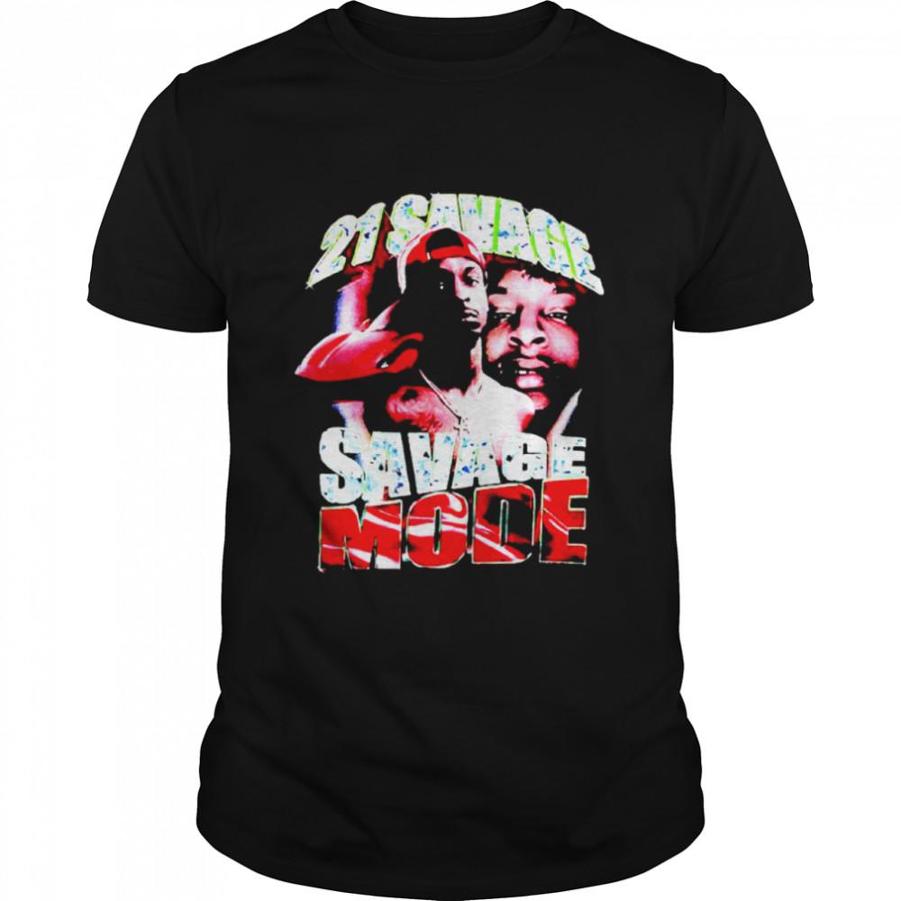 21 Savage Savage Mode shirt