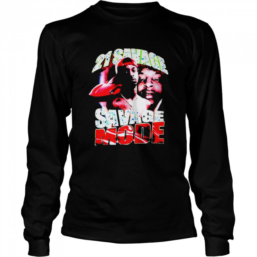 21 Savage Savage Mode shirt Long Sleeved T-shirt