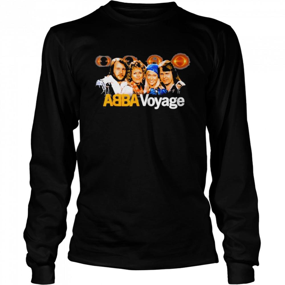 aBBA 2021 Voyage Music shirt Long Sleeved T-shirt