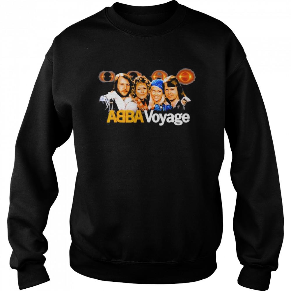 aBBA 2021 Voyage Music shirt Unisex Sweatshirt