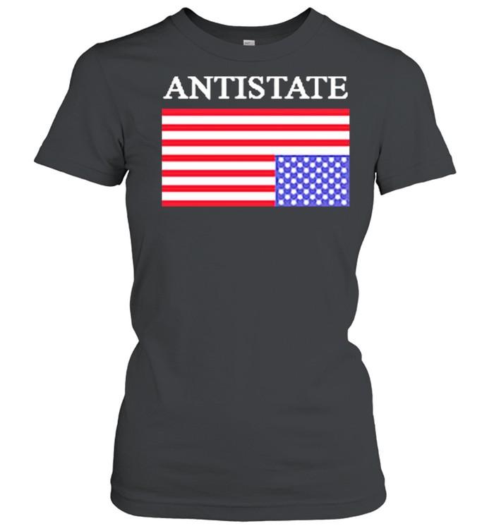 Antistate usa flag for shirt Classic Women's T-shirt