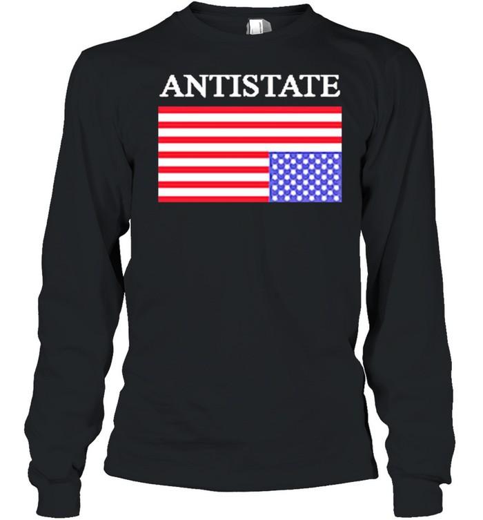 Antistate usa flag for shirt Long Sleeved T-shirt