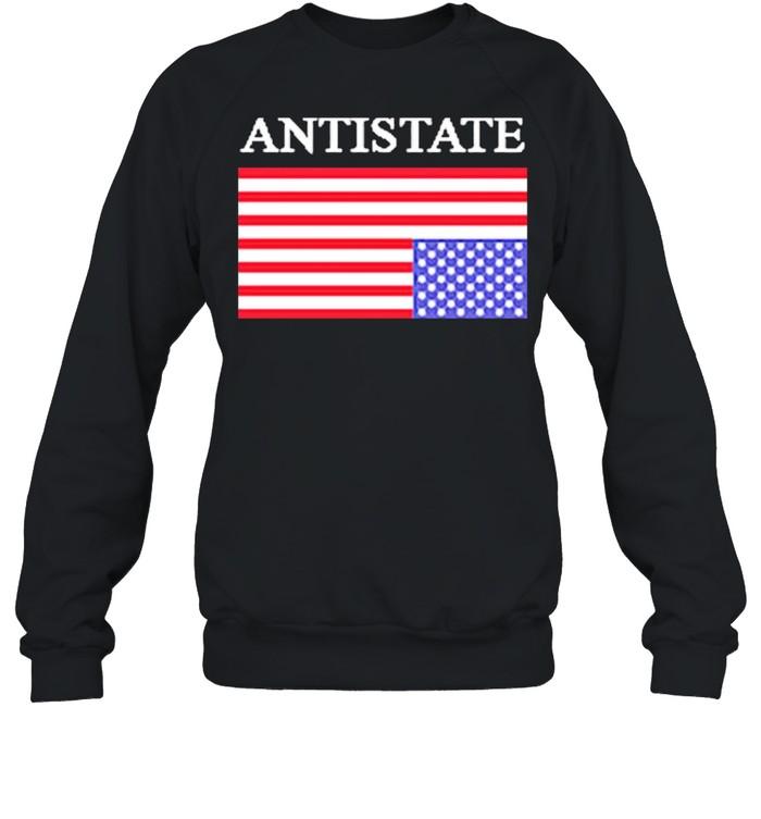 Antistate usa flag for shirt Unisex Sweatshirt