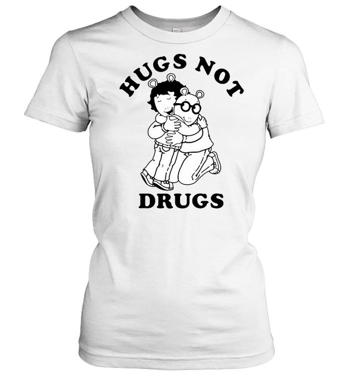 Arthur Hugs Not Drugs T-shirt Classic Women's T-shirt