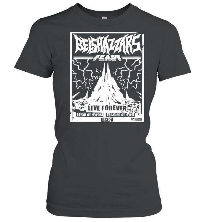Belshazzars feast frankturner belshazzars feast shirt Classic Women's T-shirt