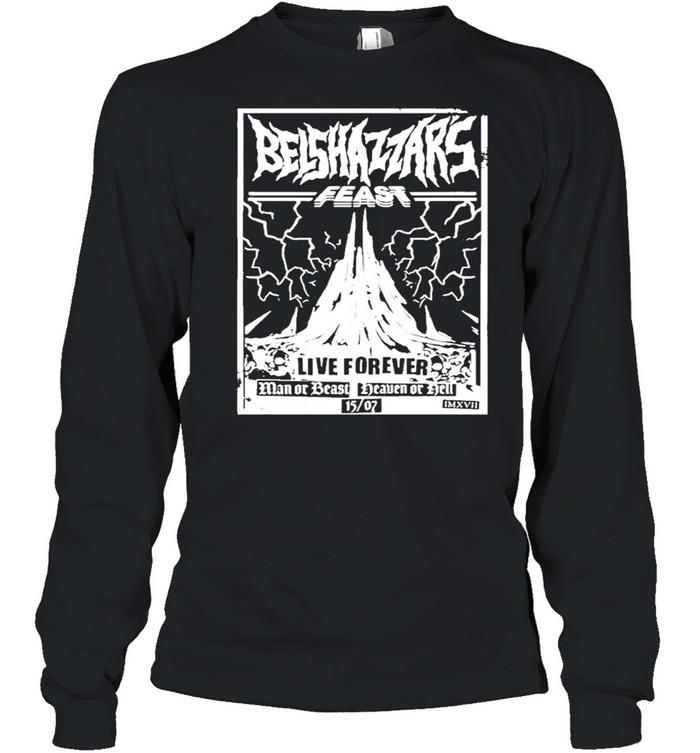 Belshazzars feast frankturner belshazzars feast shirt Long Sleeved T-shirt
