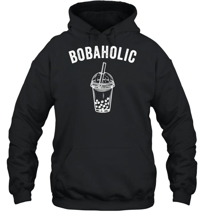 Bobaholic Bubble Tea Boba Tea shirt Unisex Hoodie