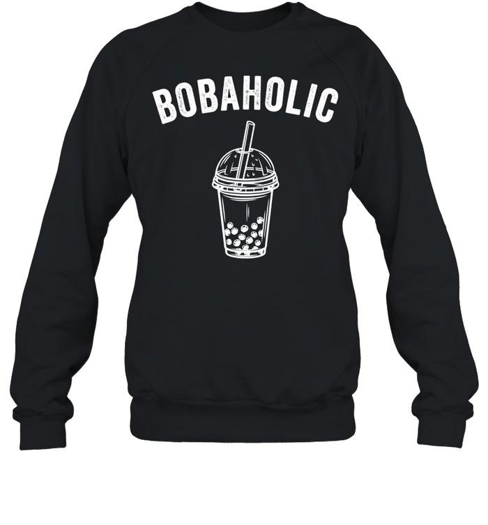 Bobaholic Bubble Tea Boba Tea shirt Unisex Sweatshirt