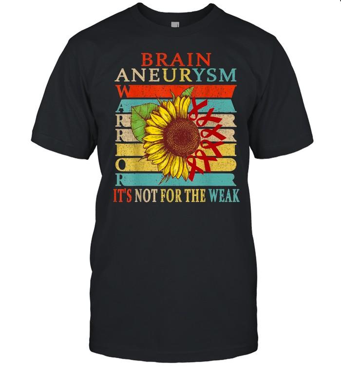 Brain Aneurysm Warrior shirt