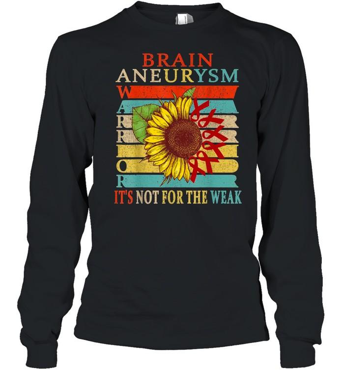 Brain Aneurysm Warrior shirt Long Sleeved T-shirt