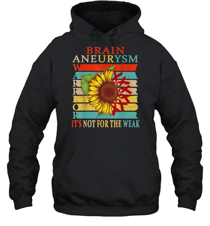 Brain Aneurysm Warrior shirt Unisex Hoodie