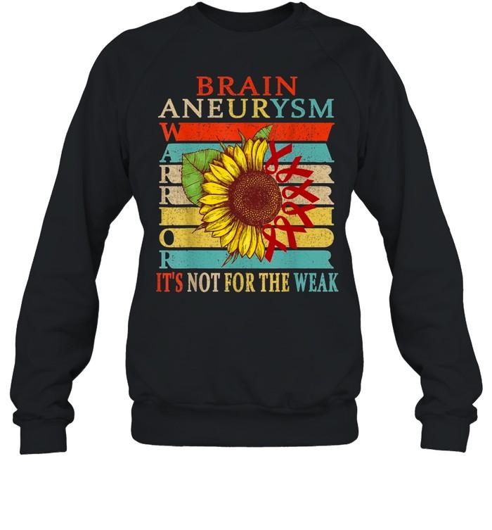 Brain Aneurysm Warrior shirt Unisex Sweatshirt
