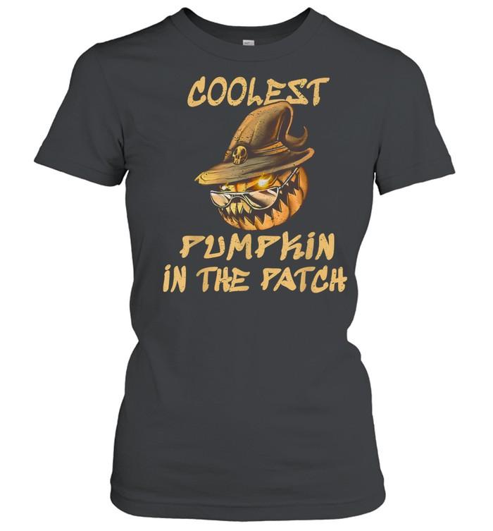 Coolest Pumpkin In The Patch Halloween shirt Classic Women's T-shirt