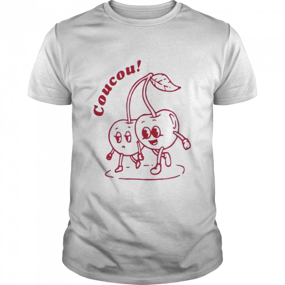 Coucou cherry fine shirt