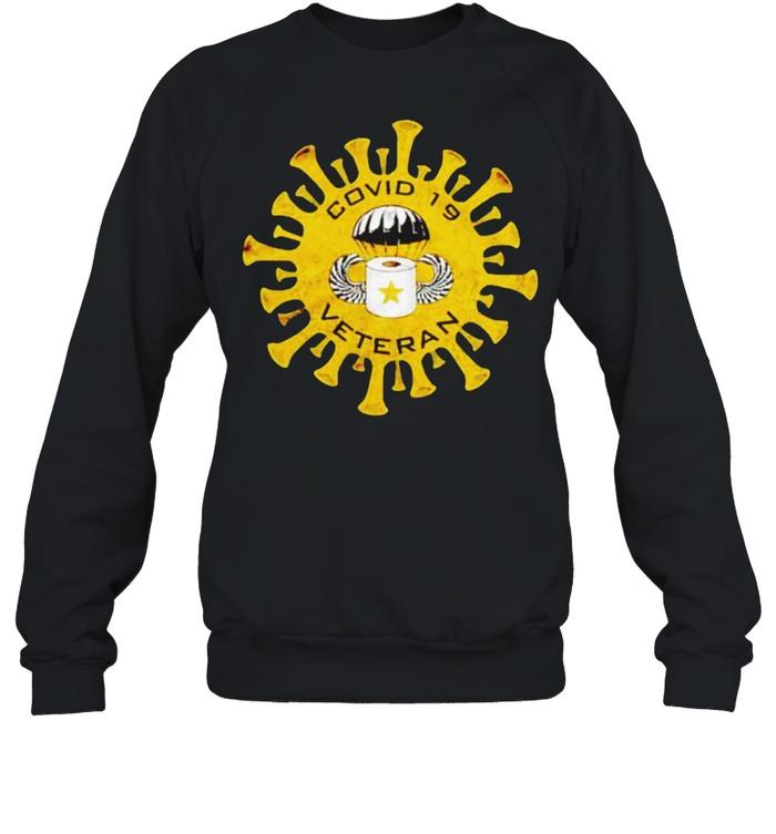 Covid 19 Veteran shirt Unisex Sweatshirt