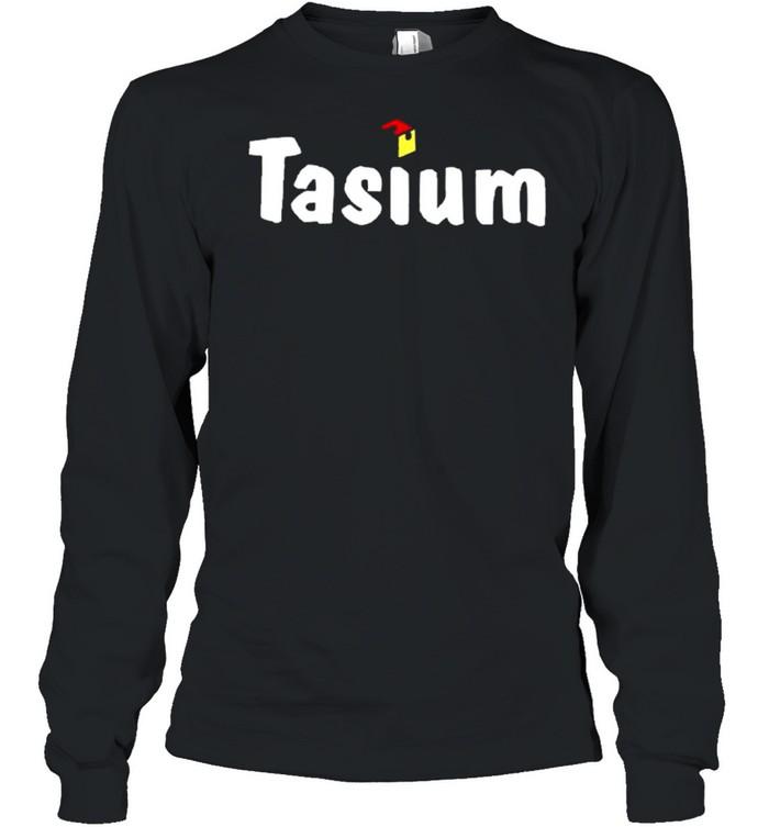 Fidget infused tasiumworldwide store fidget infused tasium shirt Long Sleeved T-shirt