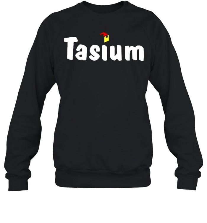 Fidget infused tasiumworldwide store fidget infused tasium shirt Unisex Sweatshirt