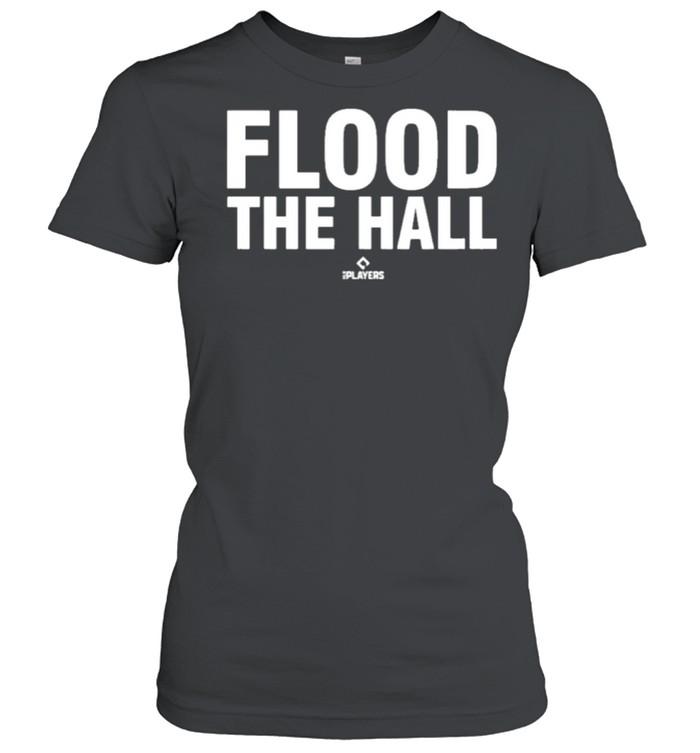 Flood the hall 108stitches merch store alex bregman flood the hall shirt Classic Women's T-shirt