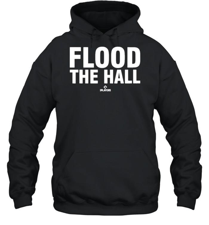 Flood the hall 108stitches merch store alex bregman flood the hall shirt Unisex Hoodie