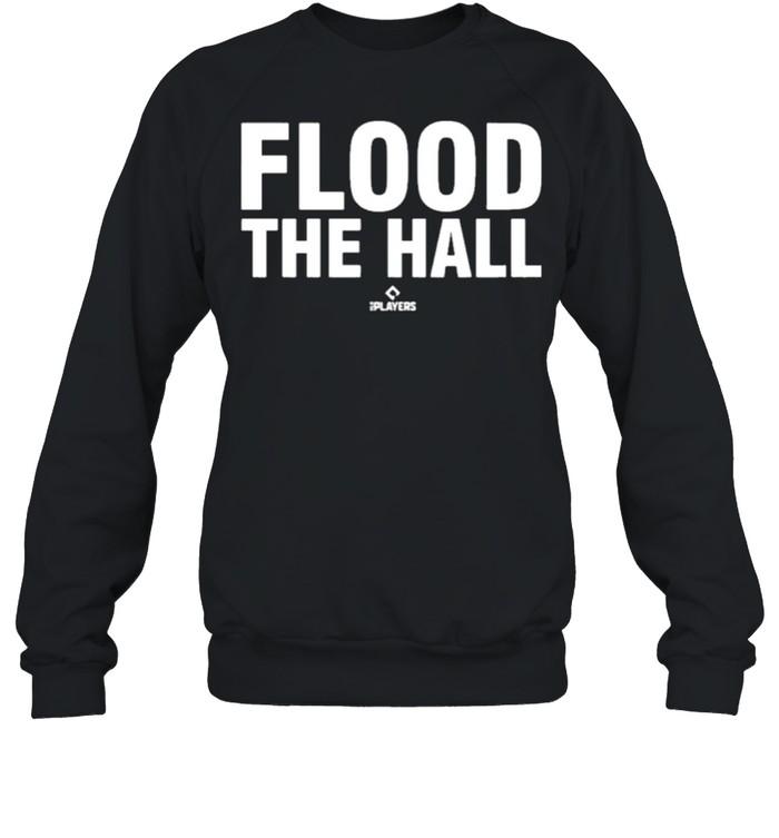 Flood the hall 108stitches merch store alex bregman flood the hall shirt Unisex Sweatshirt