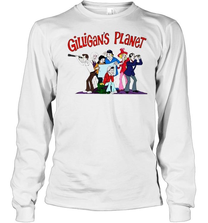 Gilligan's Planet shirt Long Sleeved T-shirt