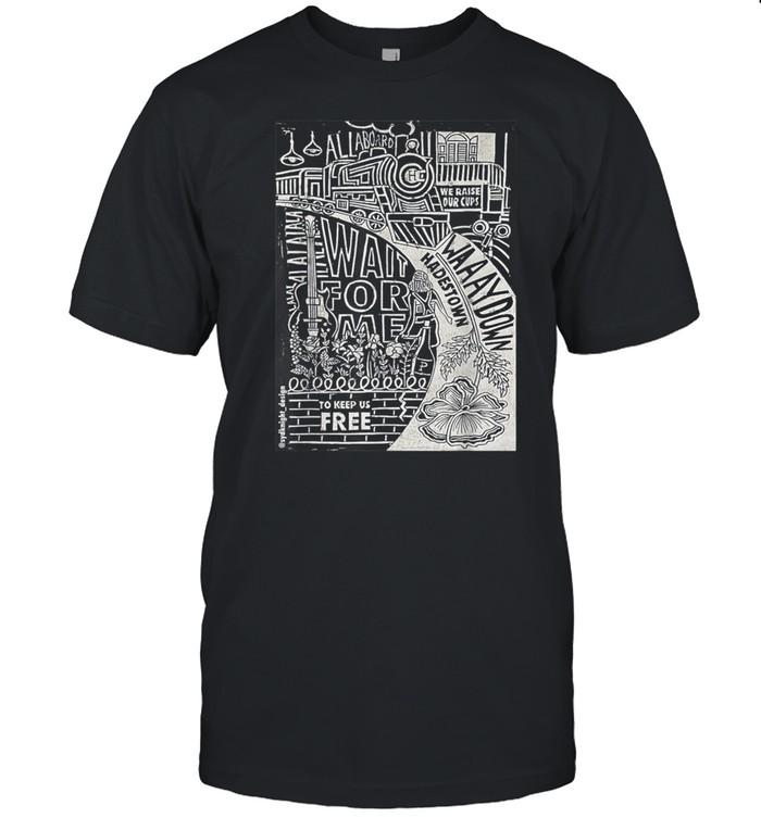 Hadestown Linocut shirt