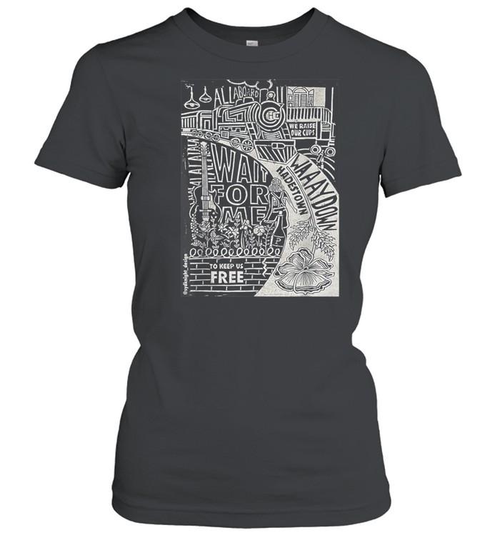 Hadestown Linocut shirt Classic Women's T-shirt