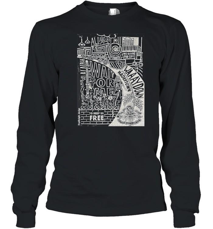 Hadestown Linocut shirt Long Sleeved T-shirt