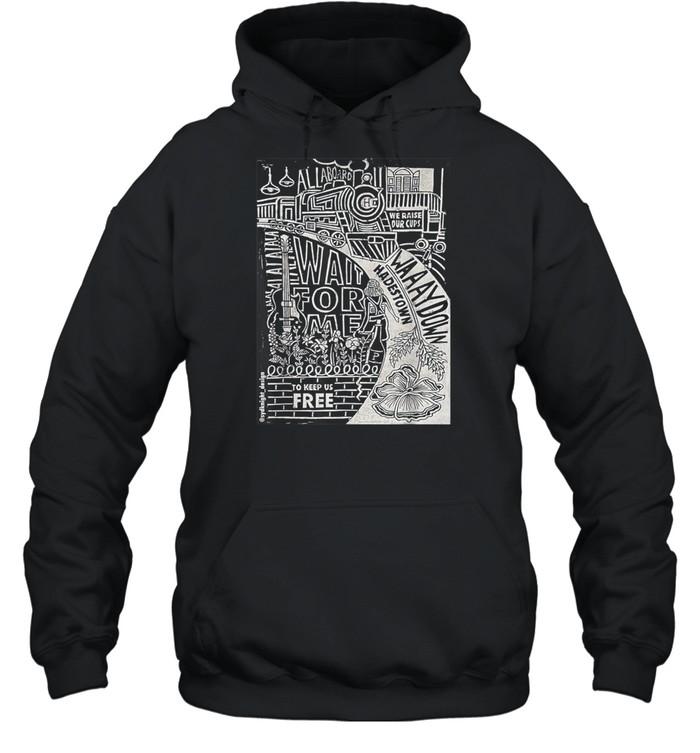 Hadestown Linocut shirt Unisex Hoodie