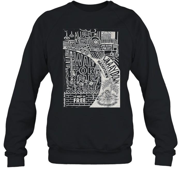 Hadestown Linocut shirt Unisex Sweatshirt