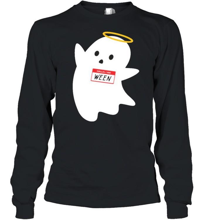 Hallo I am ween wholesomemes store hallo I am ween shirt Long Sleeved T-shirt