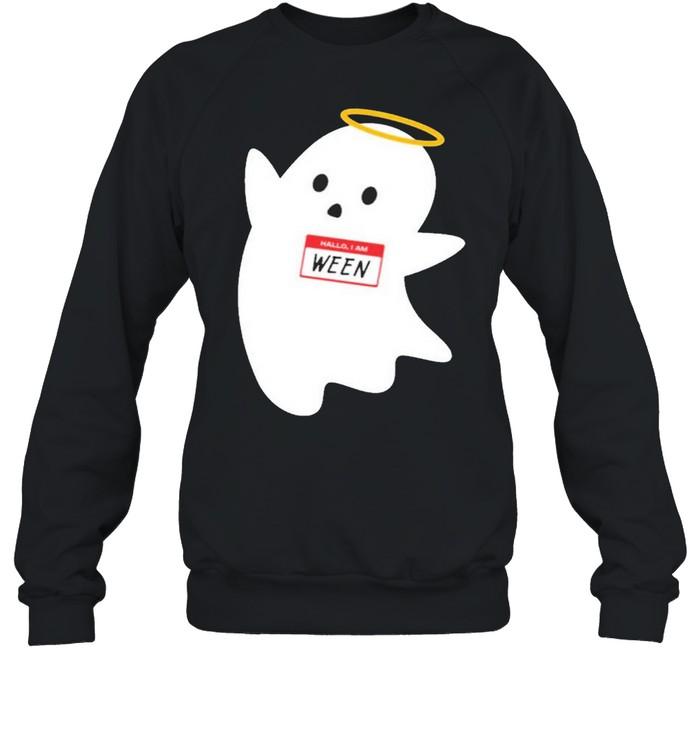 Hallo I am ween wholesomemes store hallo I am ween shirt Unisex Sweatshirt