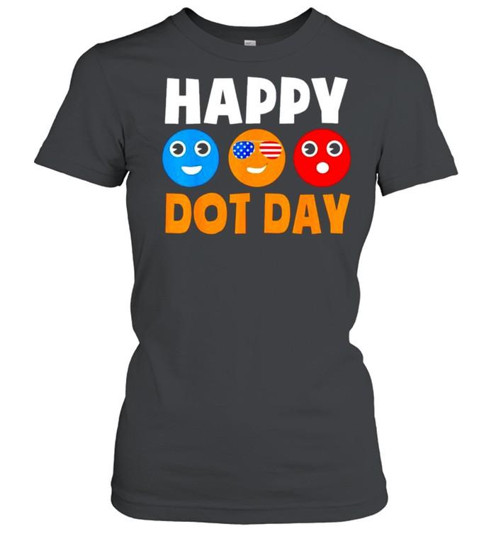 Happy International Dot Day shirt Classic Women's T-shirt