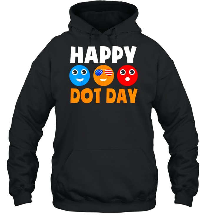 Happy International Dot Day shirt Unisex Hoodie