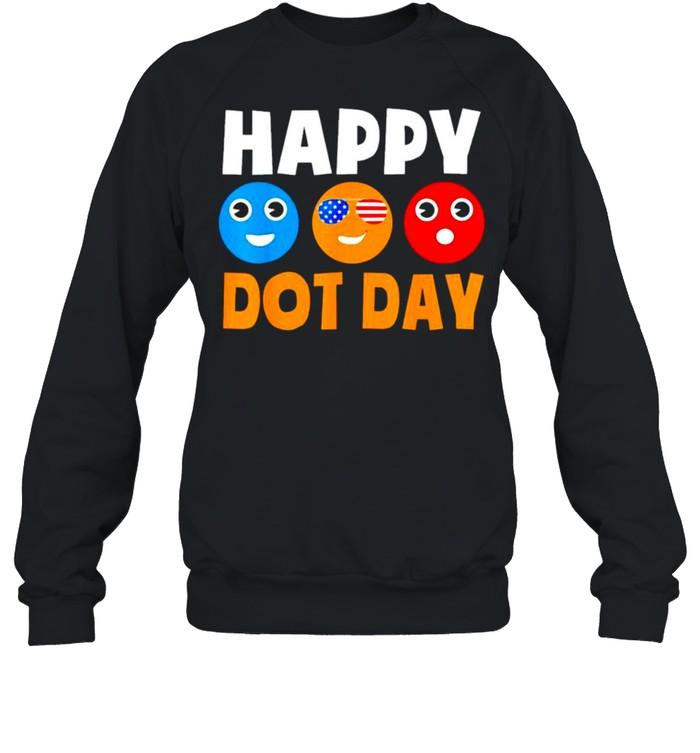Happy International Dot Day shirt Unisex Sweatshirt
