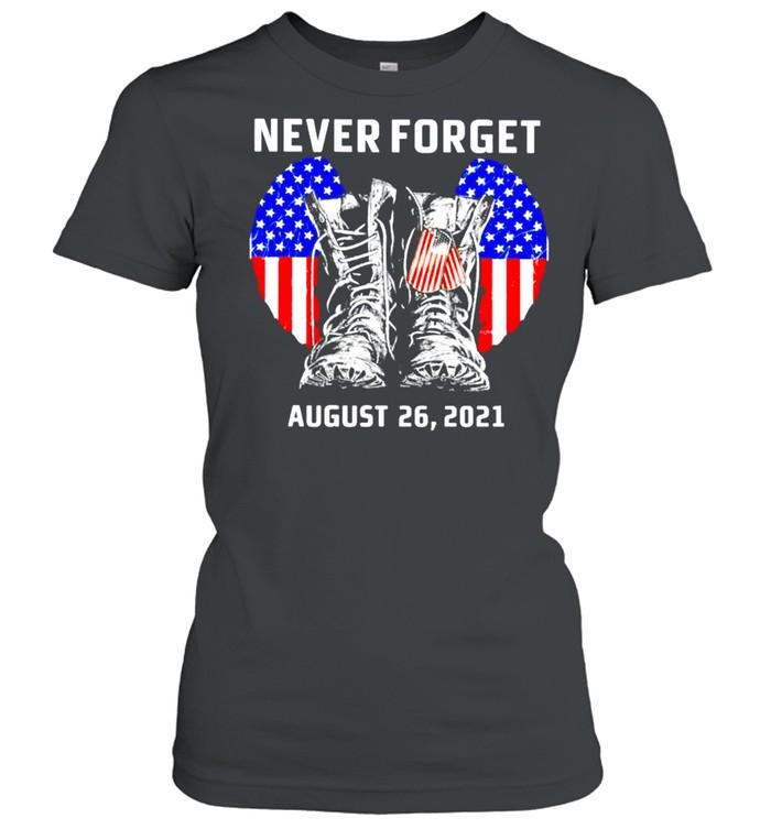 Never forget august 26 2021 America shirt Classic Women's T-shirt
