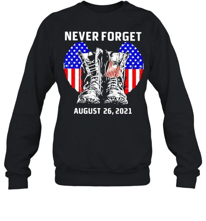 Never forget august 26 2021 America shirt Unisex Sweatshirt