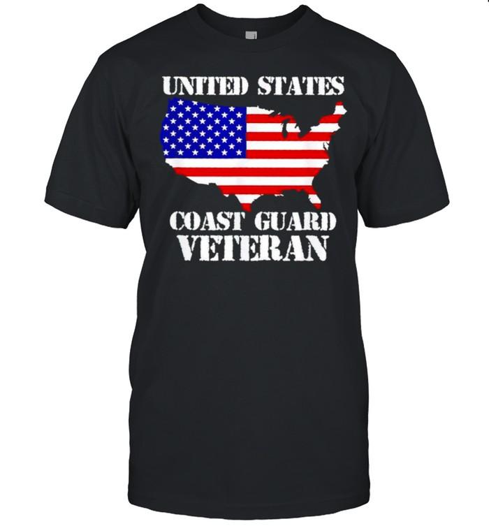 United states coast guard veteran shirt