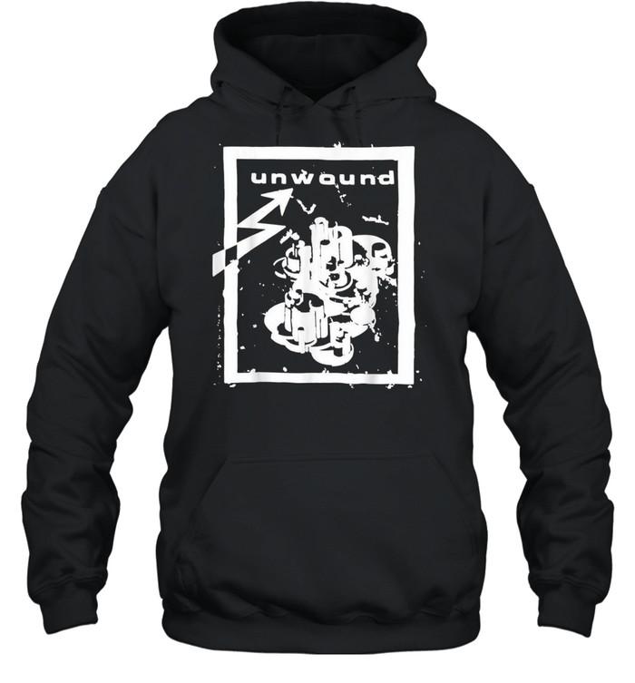 UNWOUND shirt Unisex Hoodie