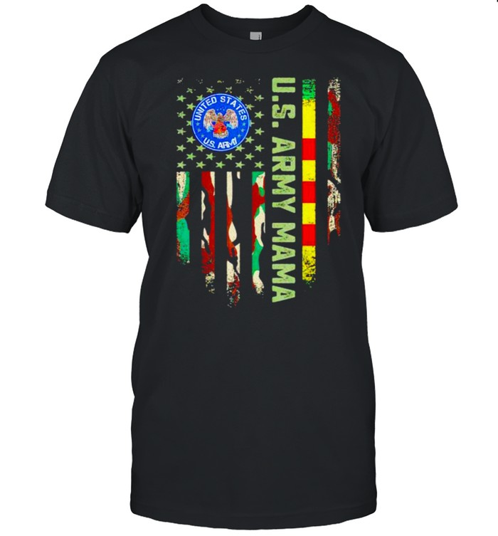 US army vietnam veteran mama shirt