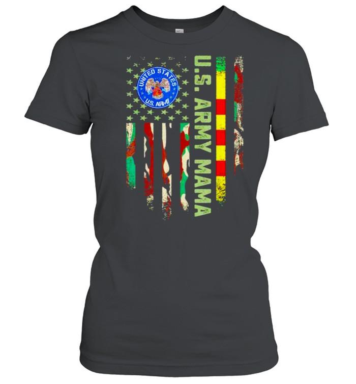 US army vietnam veteran mama shirt Classic Women's T-shirt