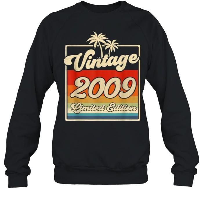 Vintage 2009 12th Birthday  Limited Edition 12 Year Old T- Unisex Sweatshirt