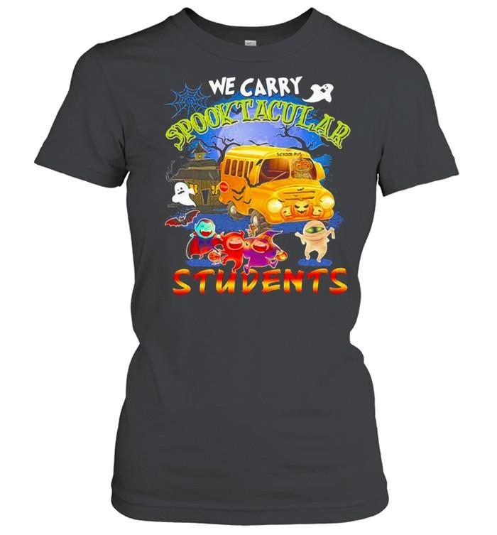 We carry spooktacular students Halloween shirt Classic Women's T-shirt