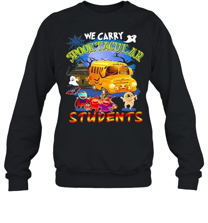 We carry spooktacular students Halloween shirt Unisex Sweatshirt