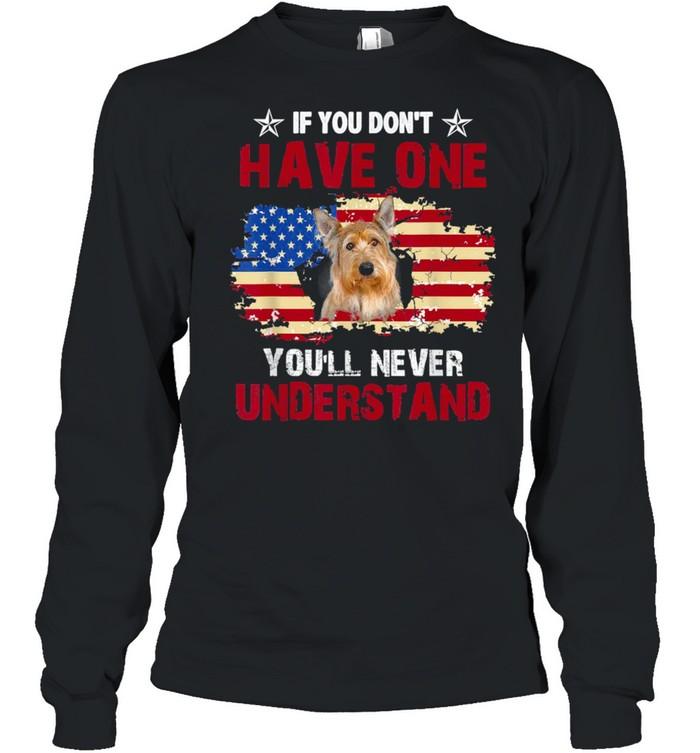 You'll Never Understand Berger Picard USA Dog shirt Long Sleeved T-shirt