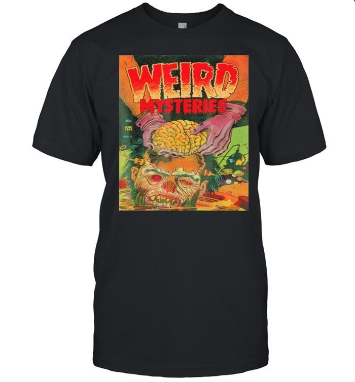 zombie Halloween Horror Vintage Comic Book Retro Scary Funny Shirt