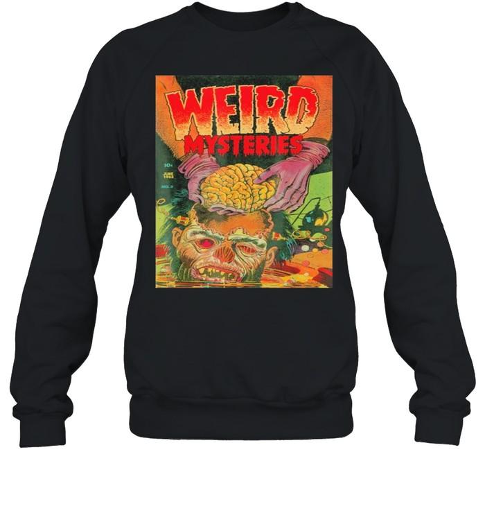 zombie Halloween Horror Vintage Comic Book Retro Scary Funny  Unisex Sweatshirt