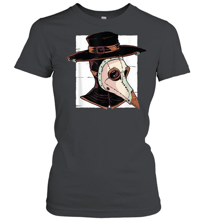 Tarot Occult Plague Doctor Horror Pest Vintage T-shirt Classic Women's T-shirt