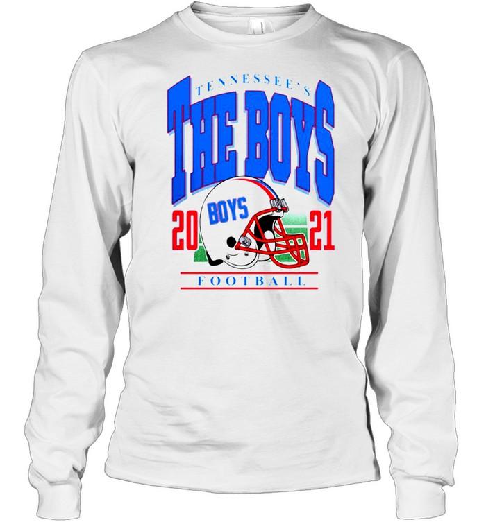 Tennessee's The Boys Football 2021 t-shirt Long Sleeved T-shirt