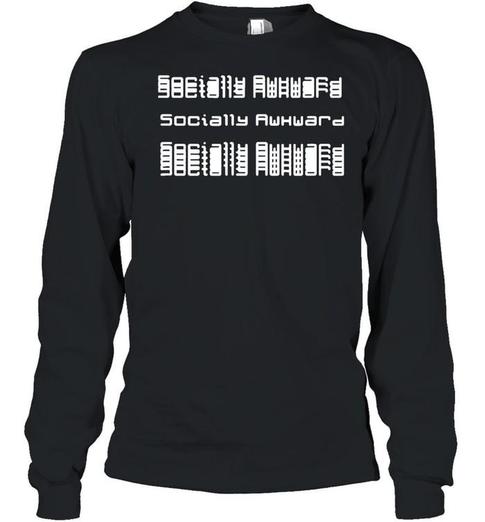 Socially awkward tee shirt Long Sleeved T-shirt